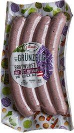 Bratwurst mit 30% Rotkraut