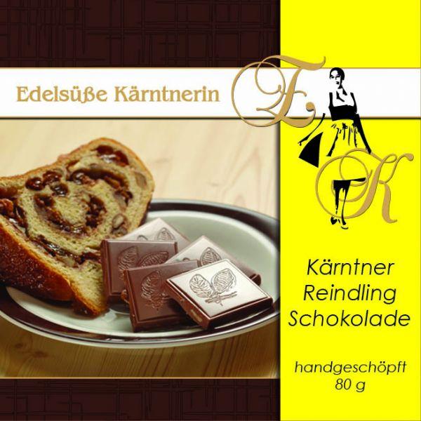 Schokolade Edelsüße Kärntnerin - Reindling 80g
