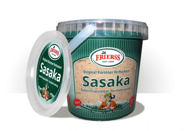 Sasaka - Alpenbrotaufstrich Klassik 1,10 kg