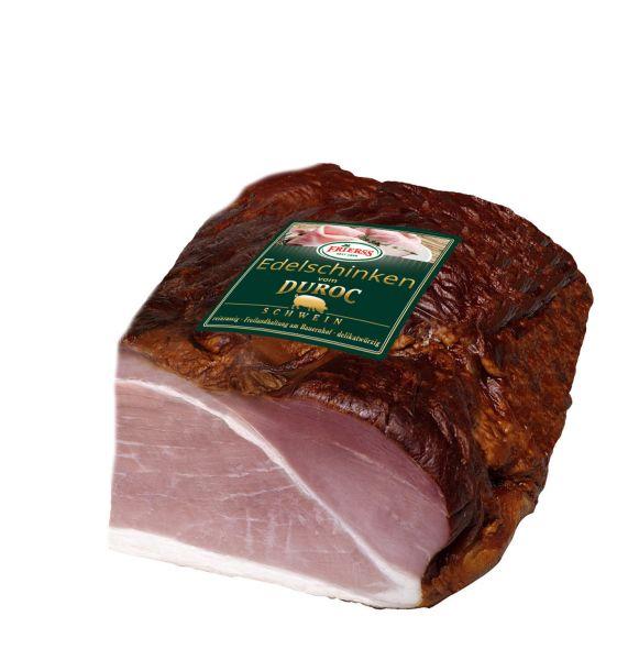 Edelschinken vom DUROC Freilandschwein ca. 1,7kg