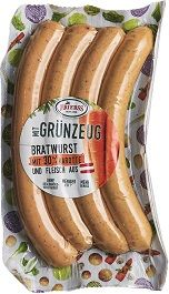 Bratwurst mit 30% Karotte