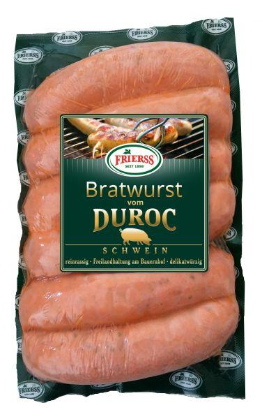 Bratwurst vom Duroc Schwein, 6 Stk, 450g