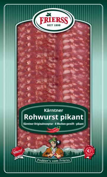 Kärntner Rohwurst pikant 100g geschnitten