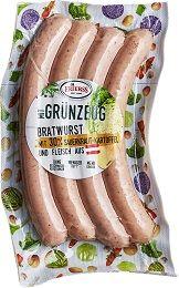Bratwurst mit 30% Sauerkraut-Kartoffel